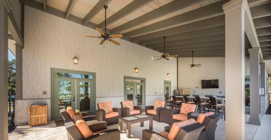 Clubhouse Poolside Veranda