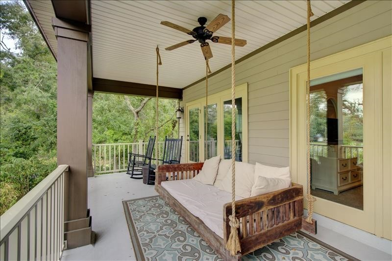 Bed Swing Upper Balcony