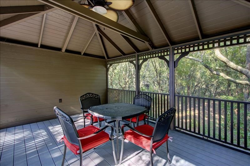 Private Gazebo Interior