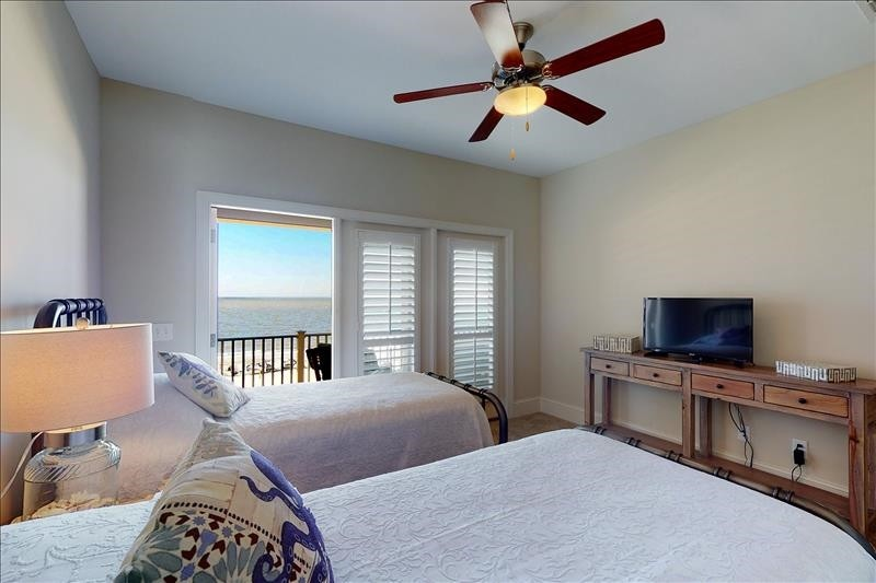 North Guest Bedroom Ocean View