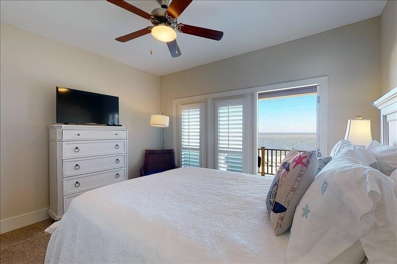 South Guest Bedroom Ocean View