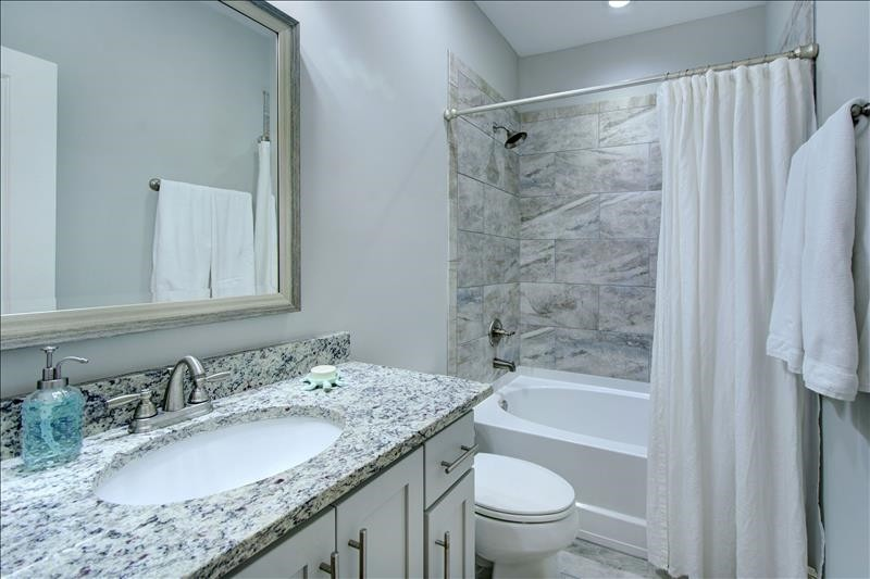 West Bath with Tub Shower Combo