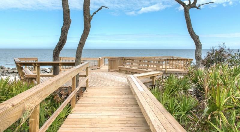 Clubhouse Beach Boardwalk