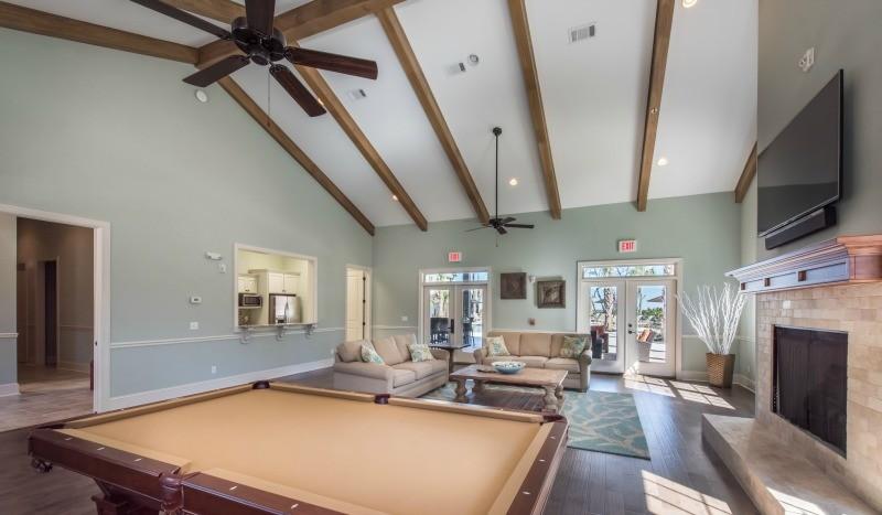 Clubhouse Billiard Table