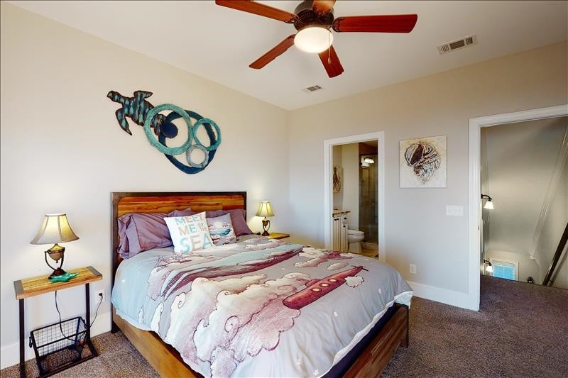 Upper South Bedroom Suite