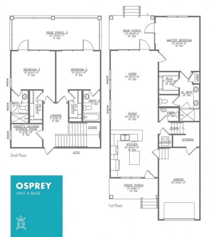 Osprey Floor Plan