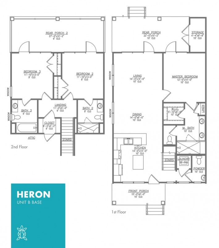 Heron Floor Plan