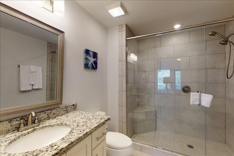 East Bedroon Bathroom Shower]