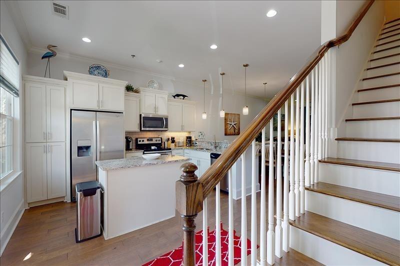 Stairway / Kitchen