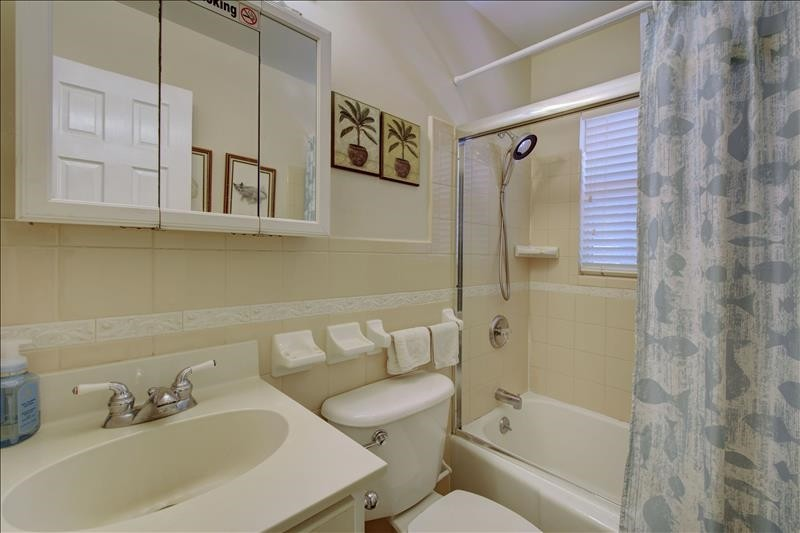 Bathroom (Tub shower combo)