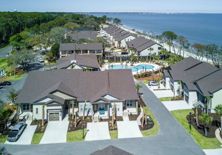 Arial View of Cottage 34