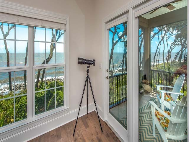 Beautiful Ocean Views  Upstairs Master & Upper Screened Balc