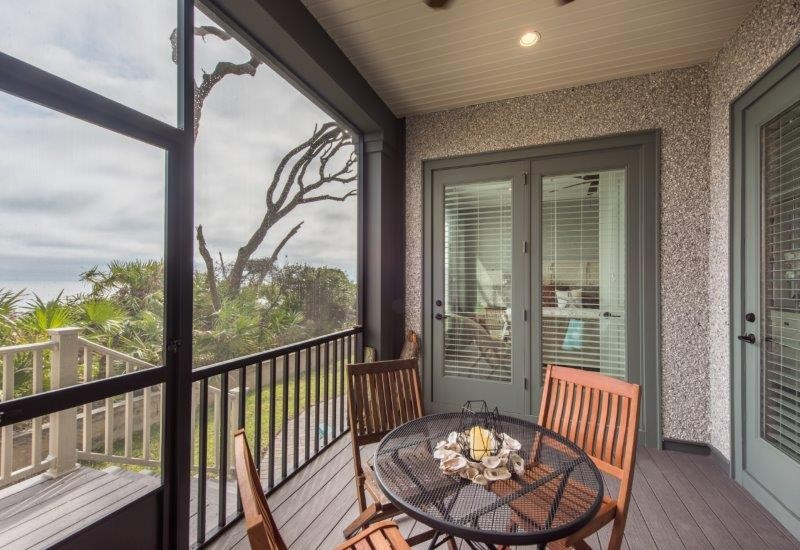 Screened-In Porch on First Level