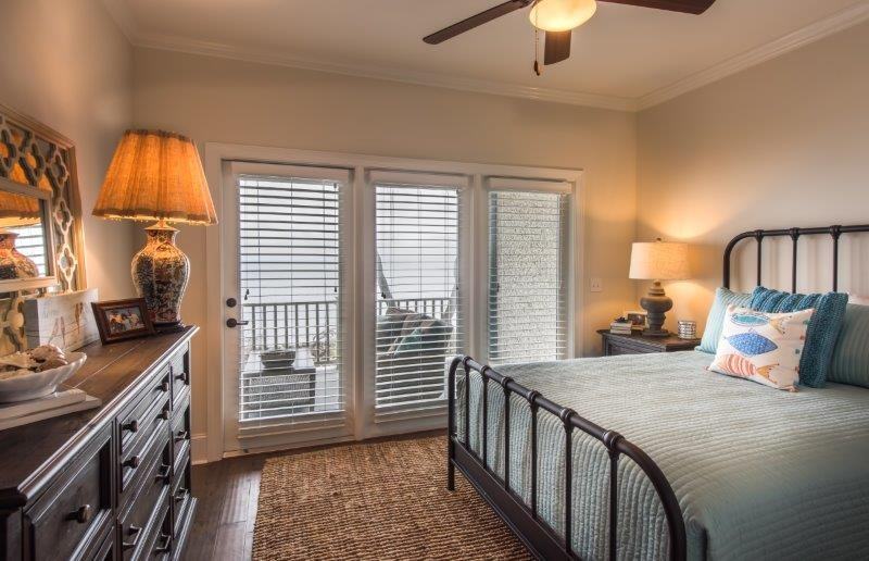 Guest Bedroom with Access to Balcony