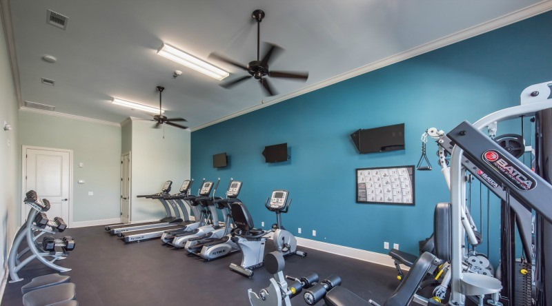 Fitness Center at Clubhouse