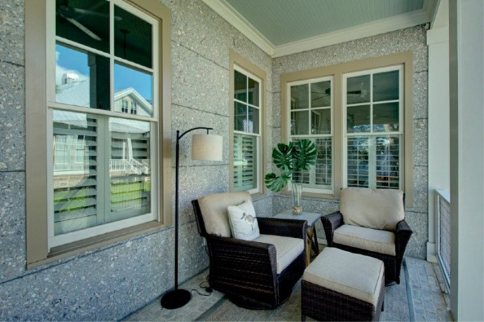 Front Porch Sitting Area
