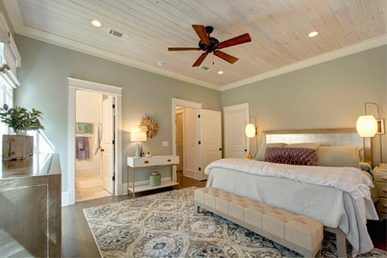 Master Bedroom View from Sitting Area